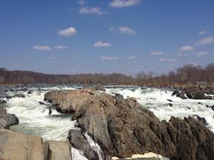 Great Falls -- a 20-30 minute walk from the Riverbend Visitor's Center.