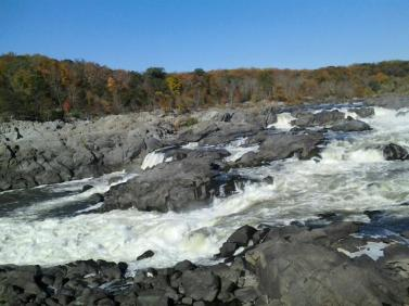 Maryland side of the falls.