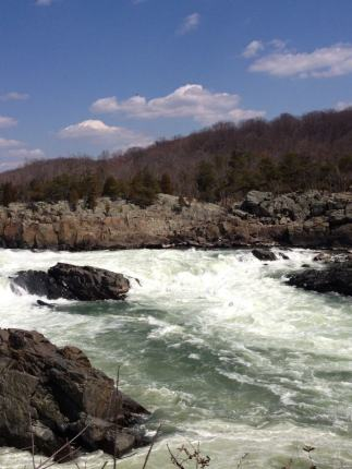 Virginia side of Great Falls.